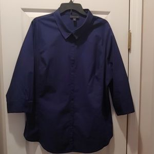 Blue button down Worthingon shirt